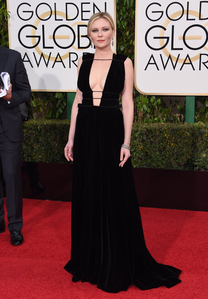 Kirsten Dunst dans une robe Valentino