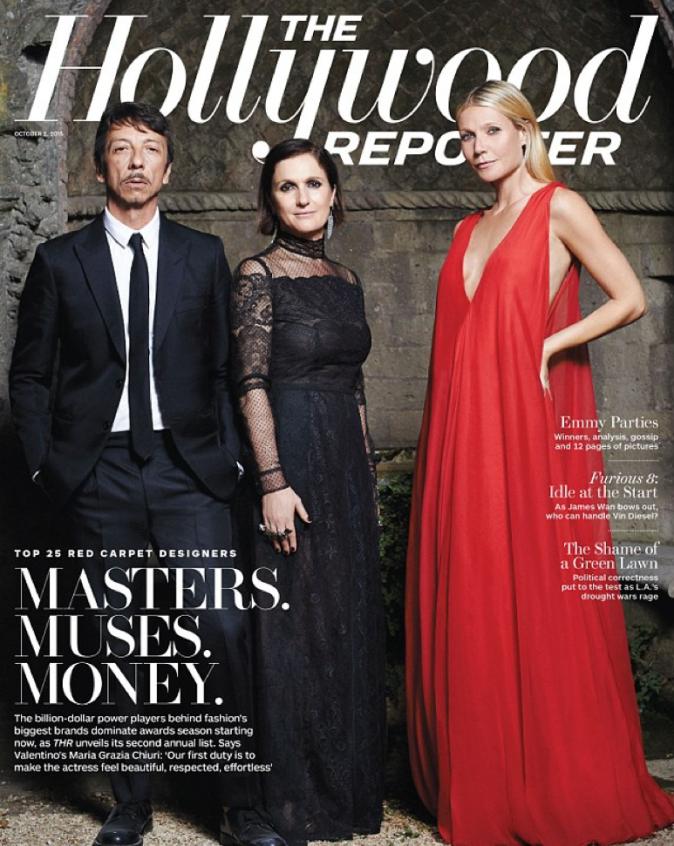 Gwyneth Paltrow en une de The Hollywood Reporter