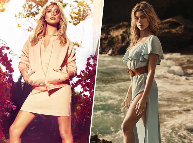 Photos : Hailey Baldwin : California Girl sexy pour la nouvelle campagne Guess !