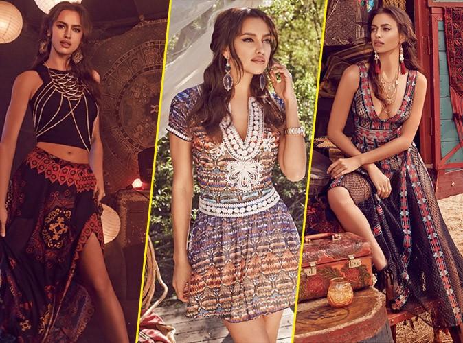 Photos : Irina Shayk, la beauté éthnique de Bebe ! On adore !
