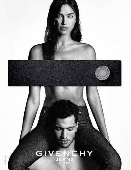 Deu bombes pour la nouvelle campagne Givenchy