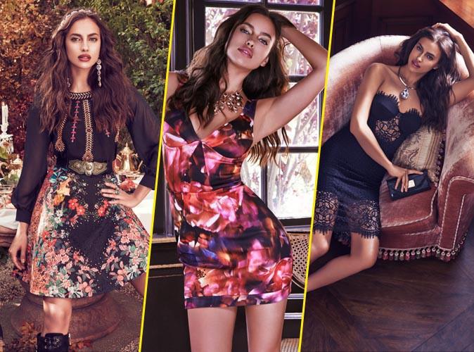 Photos : Irina Shayk : voluptueuse et sexy, elle pose de nouveau pour Bebe !