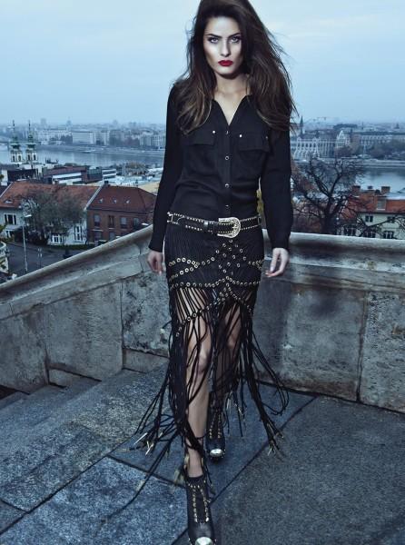 Isabeli Fontana pour la campagne Hiver 2013 de Morena Rosa.