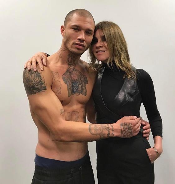 Photos : Jeremy Meeks : de la prison à la Fashion Week de New York