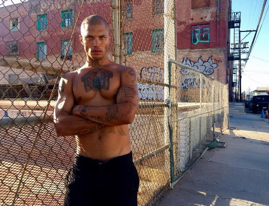Photos : Jeremy Meeks : de la prison à la Fashion Week de New York