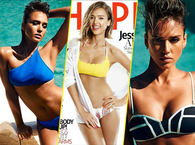 Jessica Alba : femme fatale en maillot de bain pour Shape magazine !