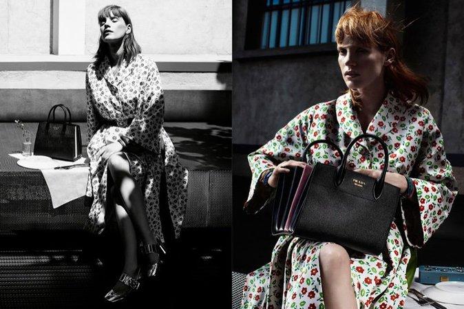 Photos : Jessica Chastain : Chicissime pour sa première campagne Prada !