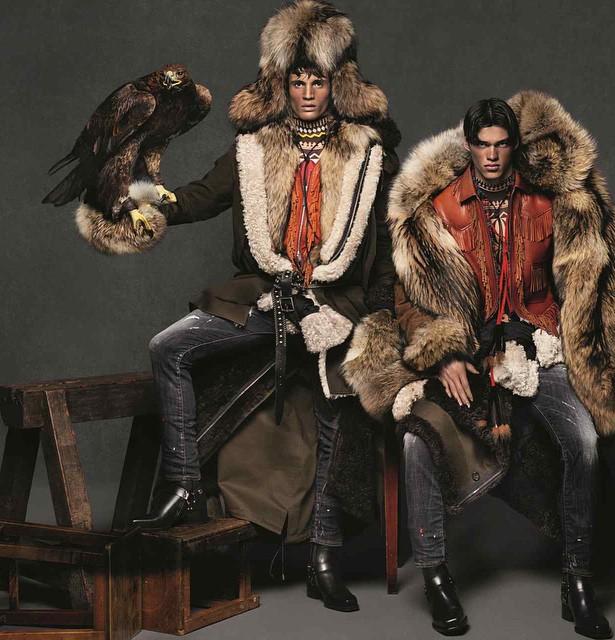 La nouvelle campagne automne - hiver 2015 de DSquared2 Homme