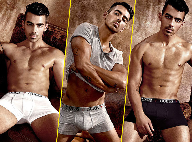 Photos : Joe Jonas : Apollon des temps modernes pour la nouvelle campagne Guess Underwear !