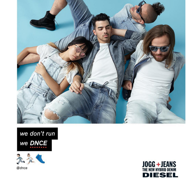 Joe Jonas pour Diesel