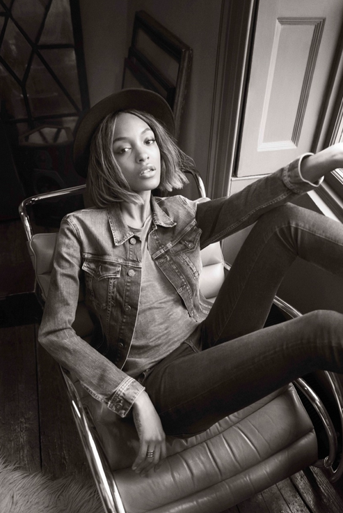 Photos : Jourdan Dunn : star de la prochaine campagne Pepe Jeans !