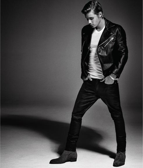 Justin Bieber pose pour le Vogue Italie
