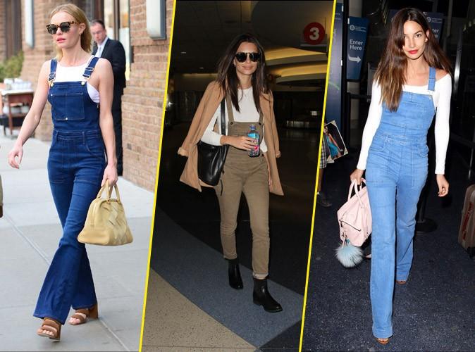 Kate Bosworth, Emily Ratajkowski, Lily Aldridge… Toutes fans de la salopette !