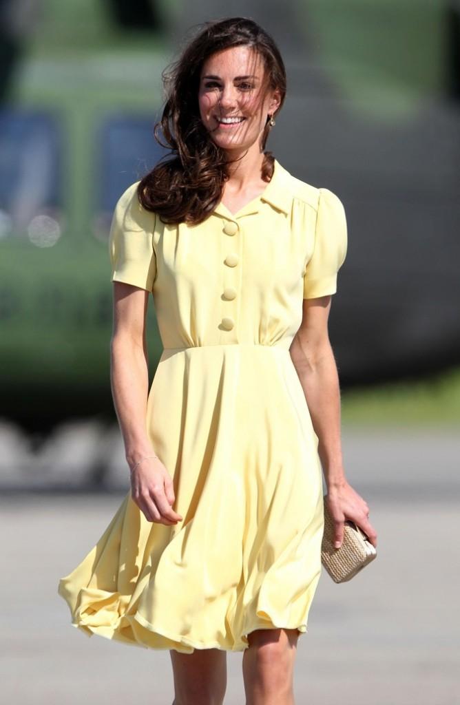 Kate Middleton, le joli petit canard !