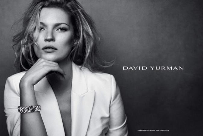 Photos : Kate Moss : envoûtante pour sa dernière campagne David Yurman !