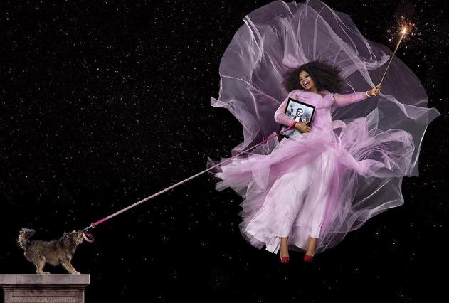 Oprah Winfrey pour Harper's Bazaar
