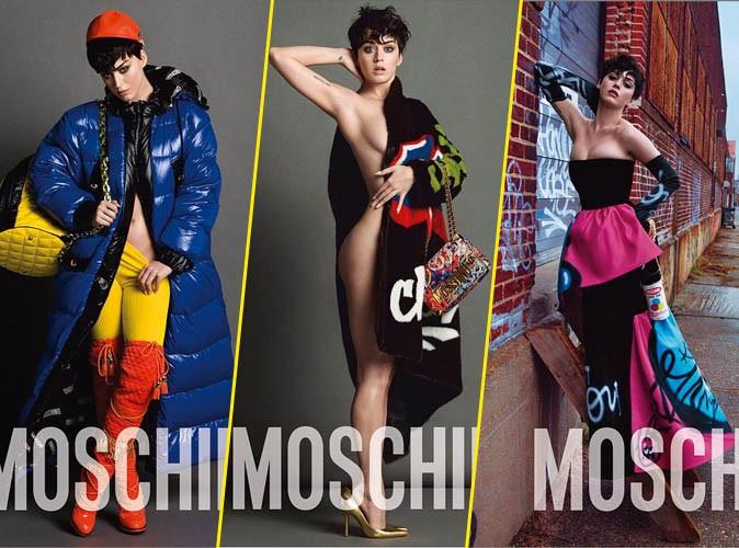 Photos : Katy Perry, la muse de Moschino nous dévoile enfin l'intégralité de sa campagne !