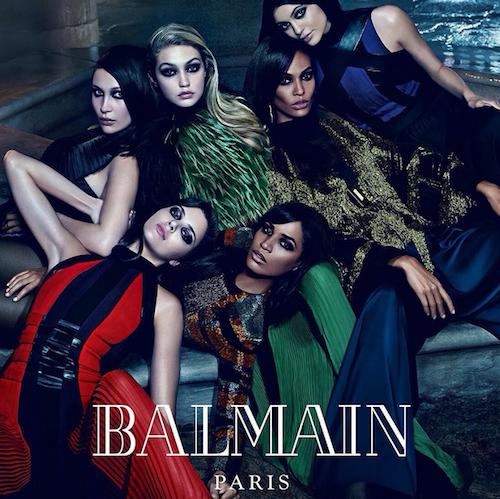 Photos : Kendall et Kylie, Gigi et Bella, Joan et Erika, l'ultime réunion des duos de sœurs pour Balmain !