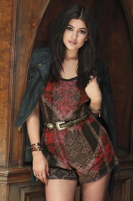 Kylie Jenner pour PacSun