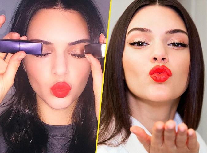 Photos : Kendall Jenner lance son propre rouge à lèvres Estée Lauder !