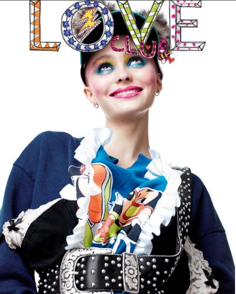Lily-Rose Depp pour Love Club