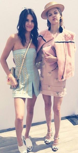 Kendall Jenner et Lindsey Wixson