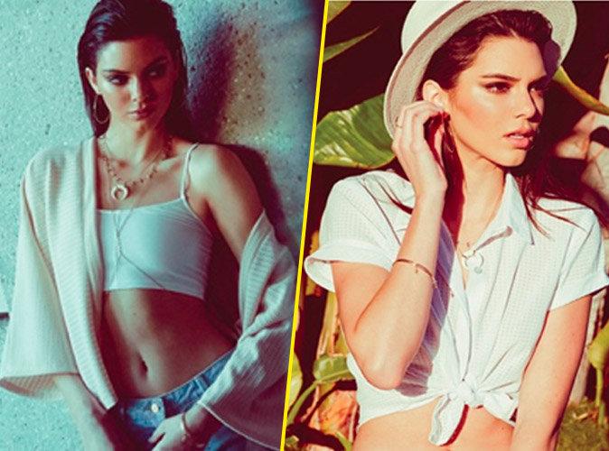 Kendall Jenner : sublime et printanière pour Pennshoppe