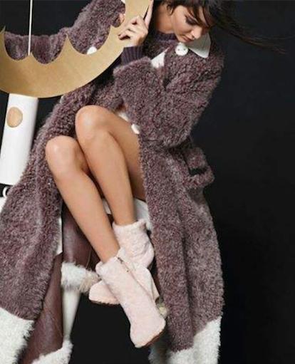 Kendall Jenner pour Fendi