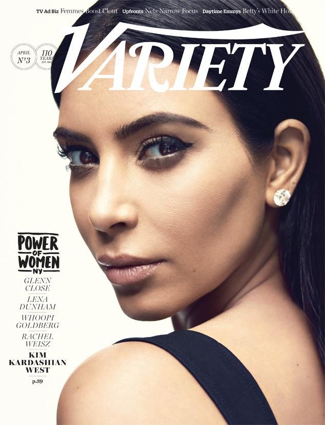 photos kim kardashian portrait d une femme de pouvoir et de coeur pour variety magazine. Black Bedroom Furniture Sets. Home Design Ideas