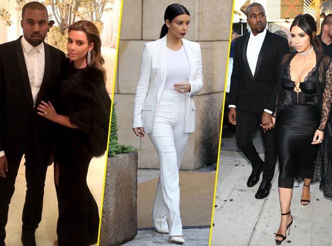 Photos : Kim Kardashian : ses 5 commandements pour être stylée à un mariage