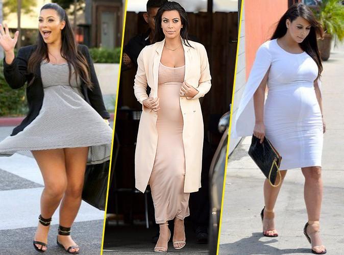 Photos : Kim Kardashian : traumatisée par ses anciens looks de grossesse !