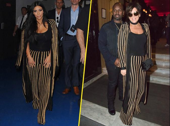 Kim Kardashian VS Kris Jenner