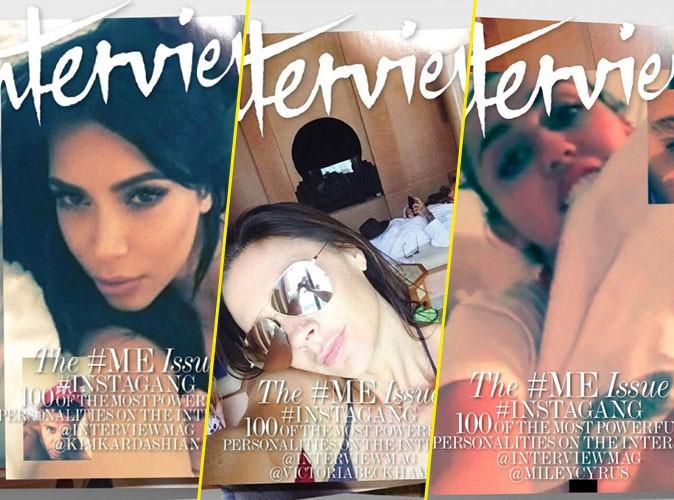 Photos : Kim, Victoria, Miley... Mert Alas photographie les stars via Face Time pour Interview Magazine !