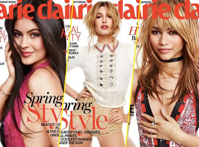 Kylie Jenner, Hailey Baldwin, Zendaya Coleman