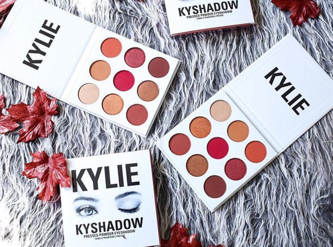 Photos : Kylie Jenner : Sa nouvelle palette aux couleurs de l'automne va s'arracher !