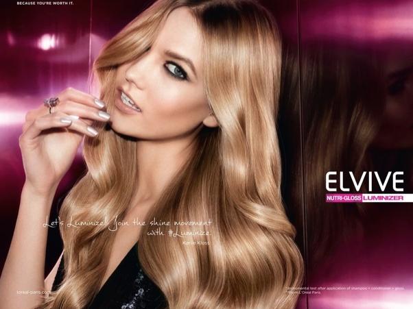 Photos : L'Oréal Paris addicted à Karlie Kloss !