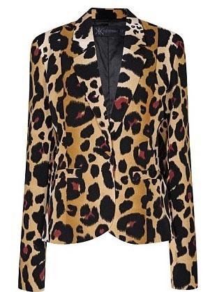 Veste imprimée léopard - 62€