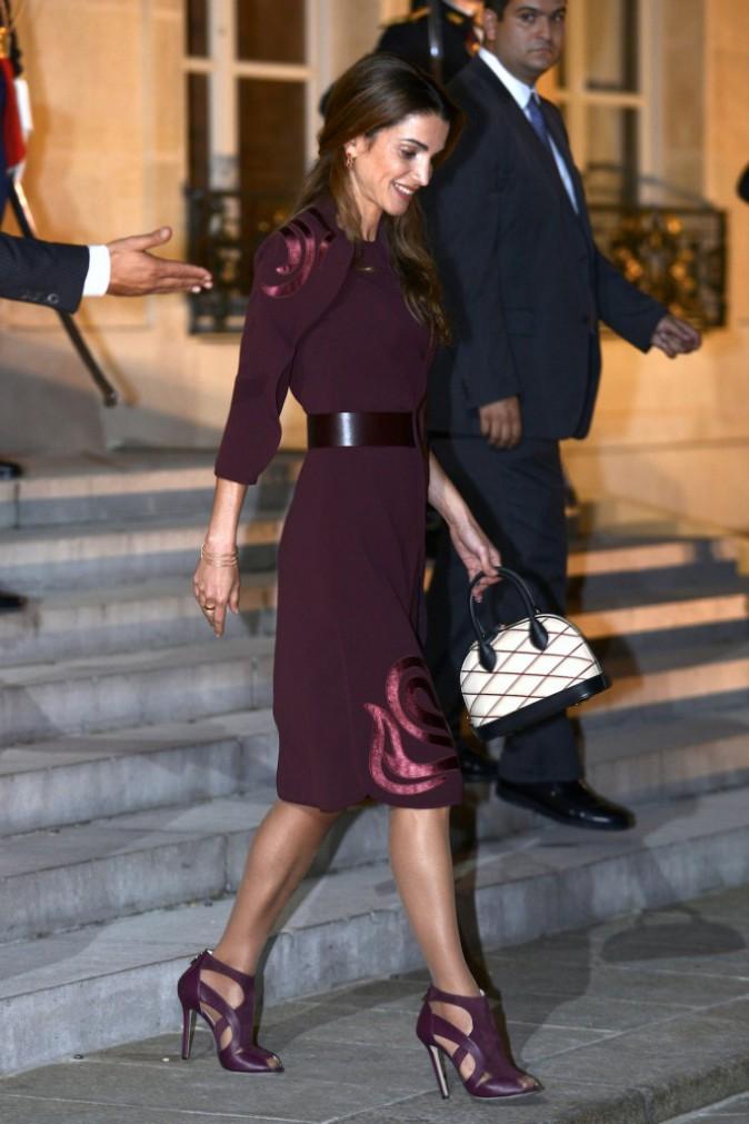 La princesse de Jordanie Rania al-Yassin