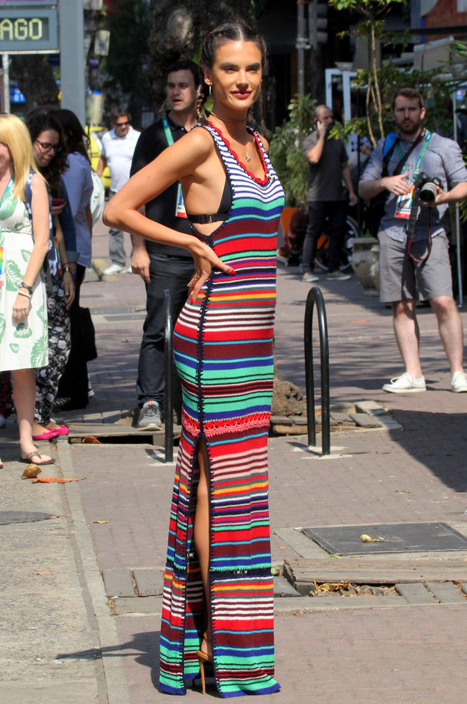 Photos : La semaine fashion d'Alessandra Ambrosio et Adriana Lima !