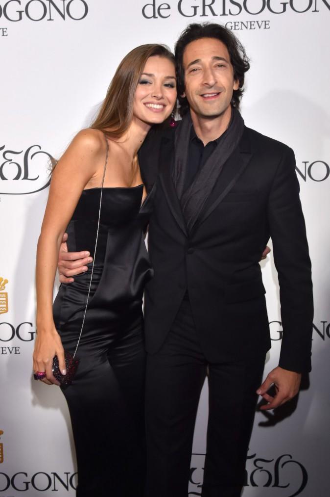 Les plus beaux beauty look de la soirée de Grisogono : Lara Lieto et Adrien Brody
