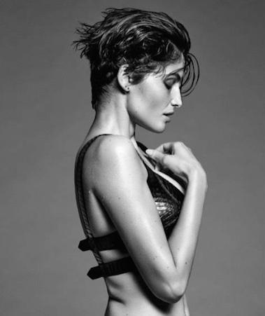 Laetitia Casta pour Harper Bazaar Espagne