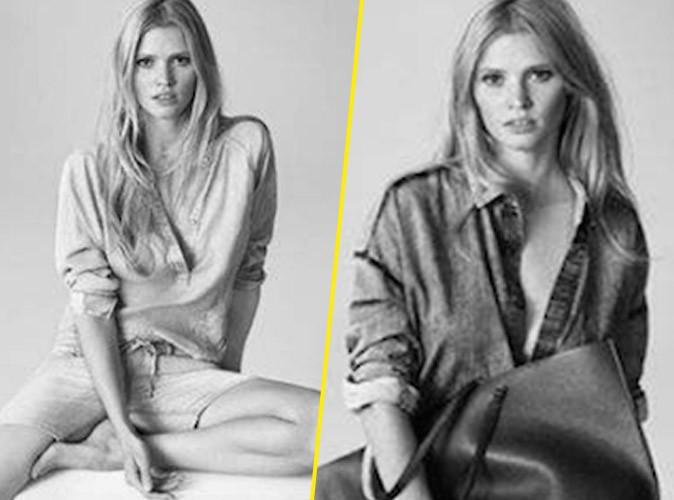 Photos : Lara Stone, casual et naturelle pour la dernière campagne Calvin Klein !