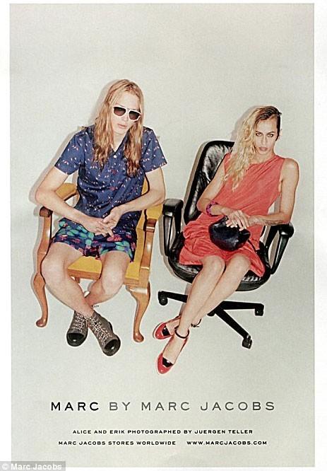 Alice Dellal et Erik Andersson pour Marc by Marc Jacobs