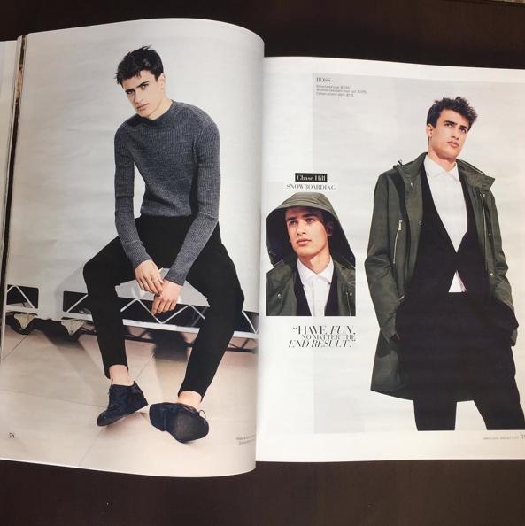 Photos : Le petit frère de Taylor Hill signe chez IMG Models !