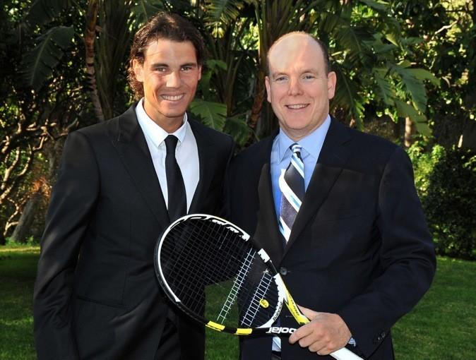 Petite photo avec le champion de tennis : Nadal !