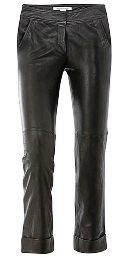 Pantalon de cuir, Diane Von Furstenberg 650 €