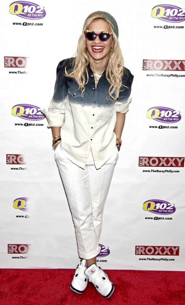 Rita Ora: accro aux Jordan !