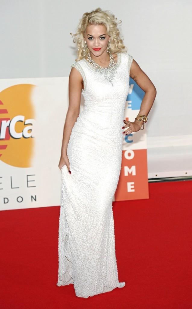 Rita Ora lors des Brit Awards !