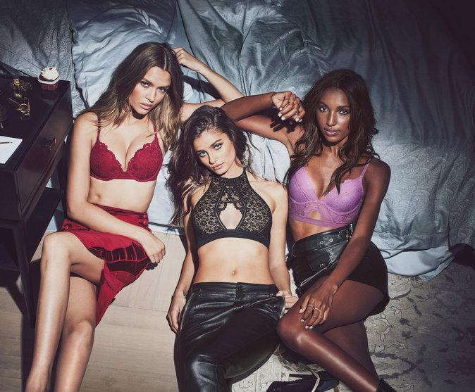 Photos : Les anges de Victoria's Secret présentent la nouvelle collection en dansant devant Joe Jonas !