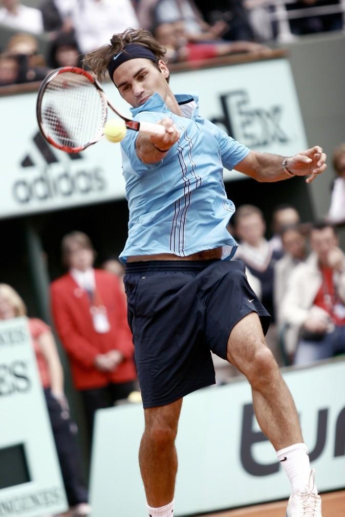 Roger Federer donne tout !
